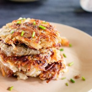 German Potato Pancakes - Kartoffelpuffer
