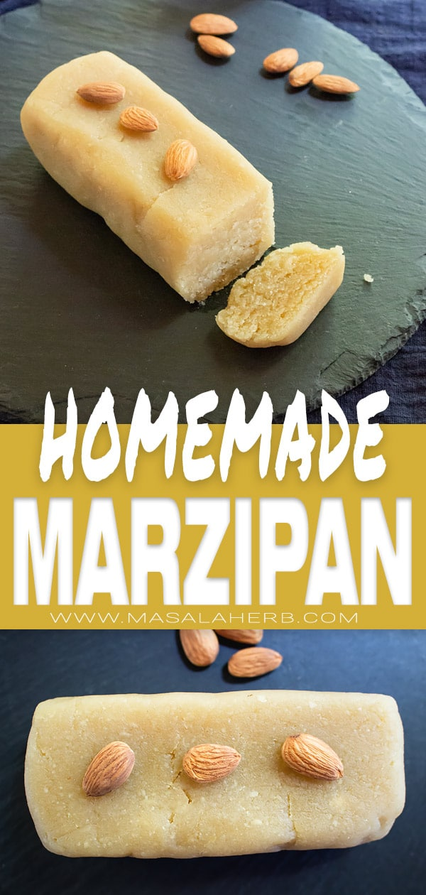 BEST Marzipan Recipe - Basic Almond Paste