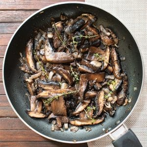Sauteed Portobello Mushroom Recipe Video Masala Herb