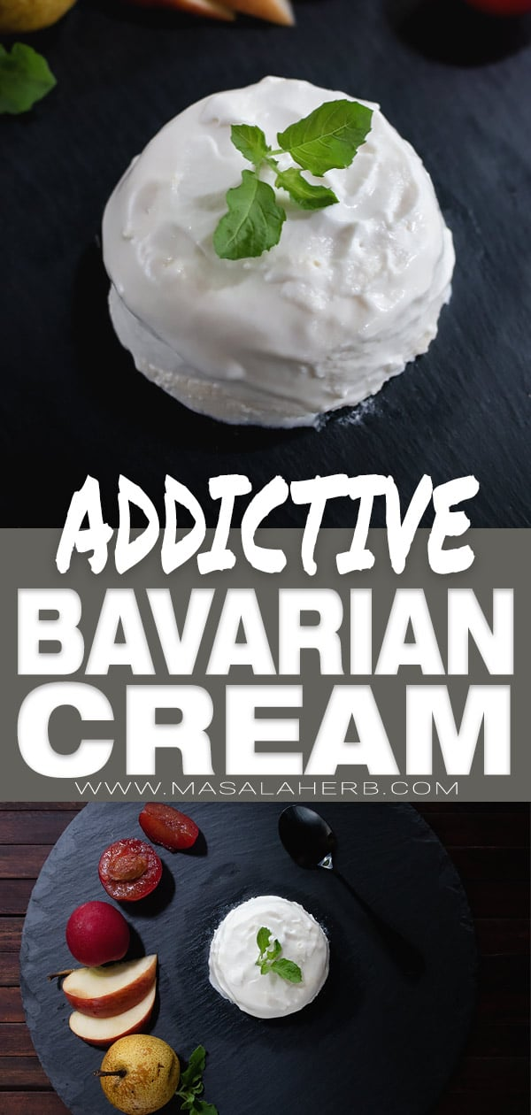 Bavarian Cream Recipe