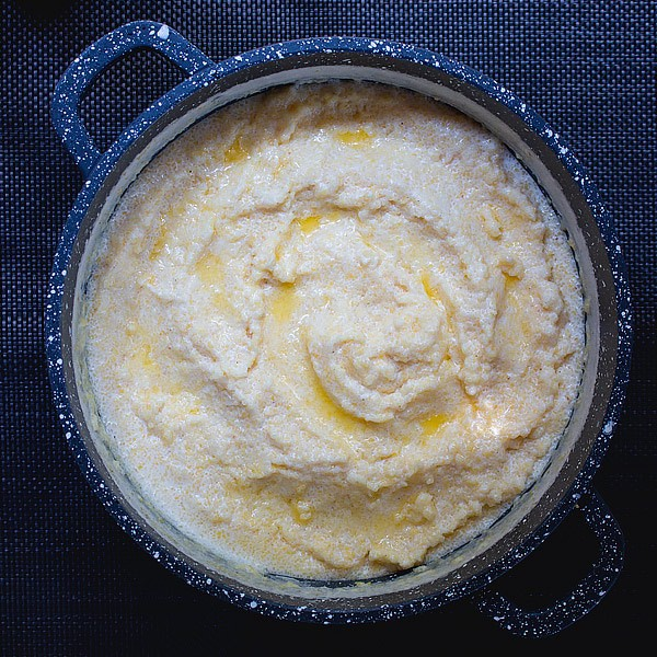 Quick Creamy Polenta Recipe