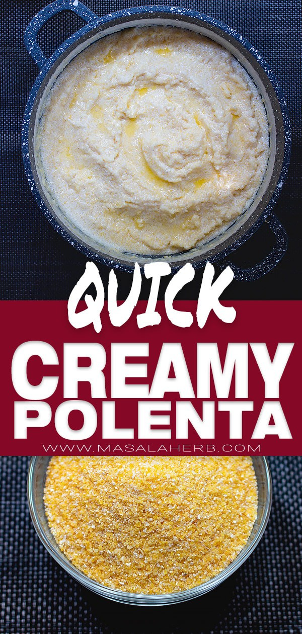 Quick Creamy Polenta Recipe