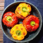 Vegan Stuffed Peppers Recipe with Rice