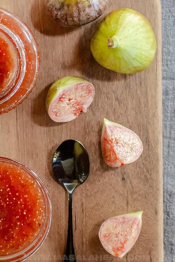 Fig Jam Recipe - How to make Fig Jam