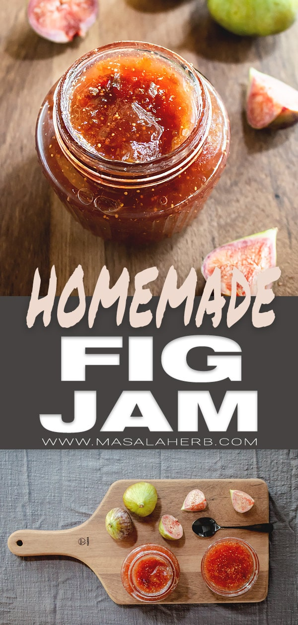 Fig Jam Recipe - How to make Fig Jam