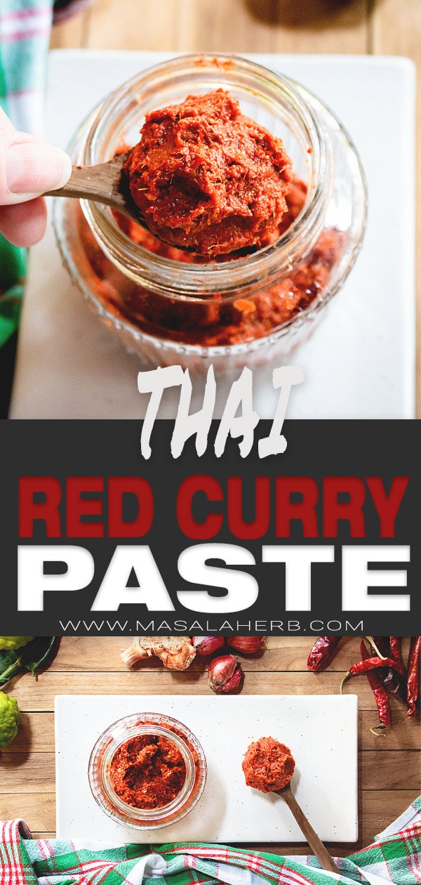 5-Minute Thai Red Curry Paste Recipe