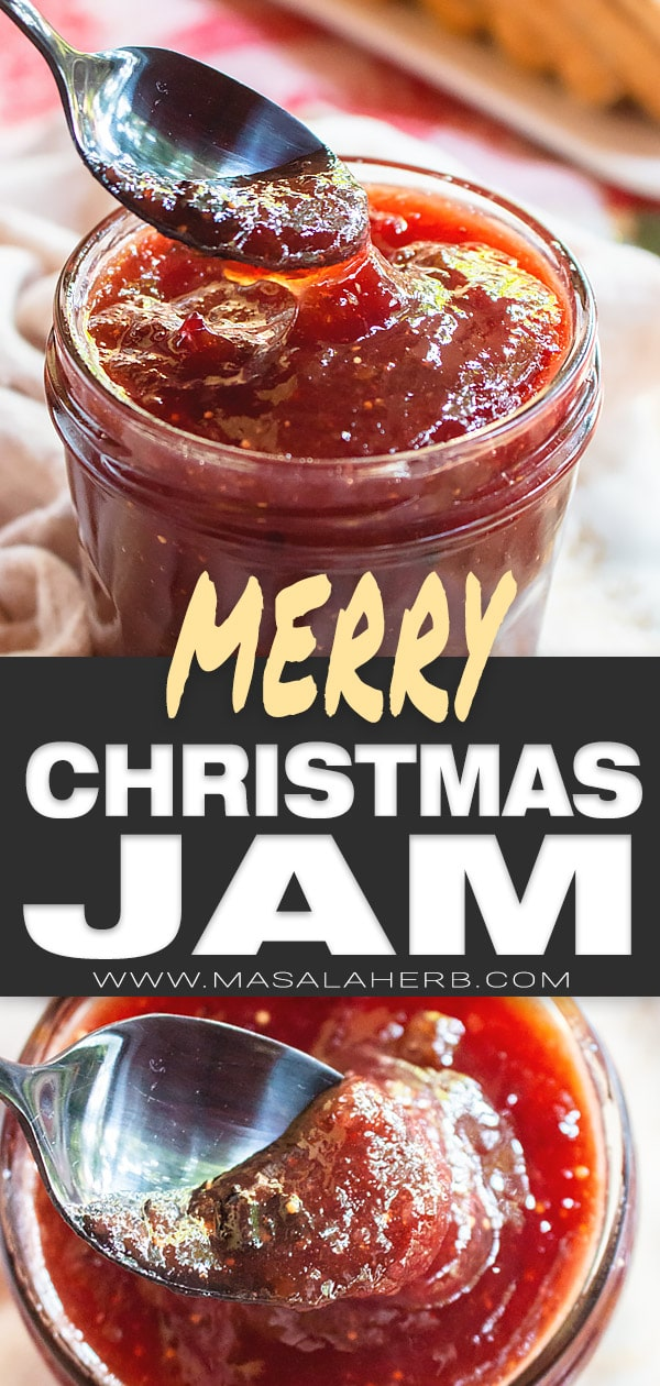 Merry Christmas Jam Recipe