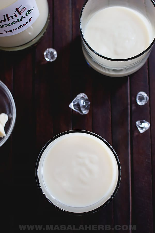 Easy White Chocolate Liqueur Recipe