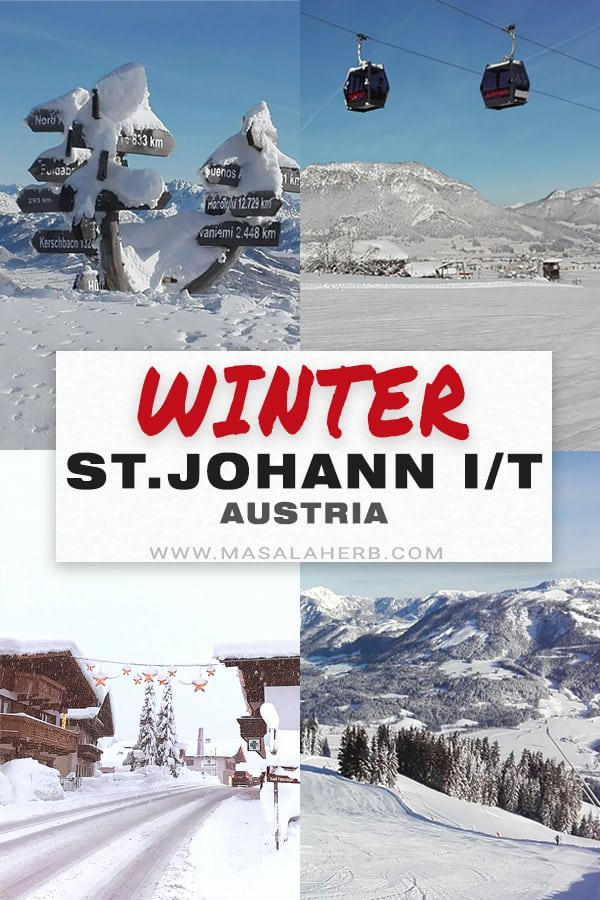 St.Johann in tirol in winter