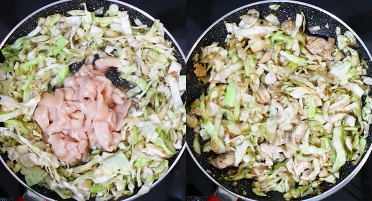 Quick Chicken Cabbage Stir Fry Recipe