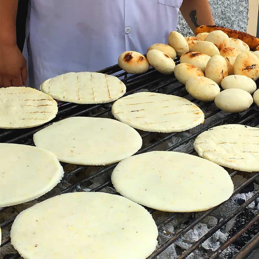 Colombian Arepas Recipe Masalaherb Com