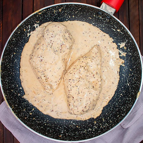 Skillet Dijon Mustard Chicken Recipe