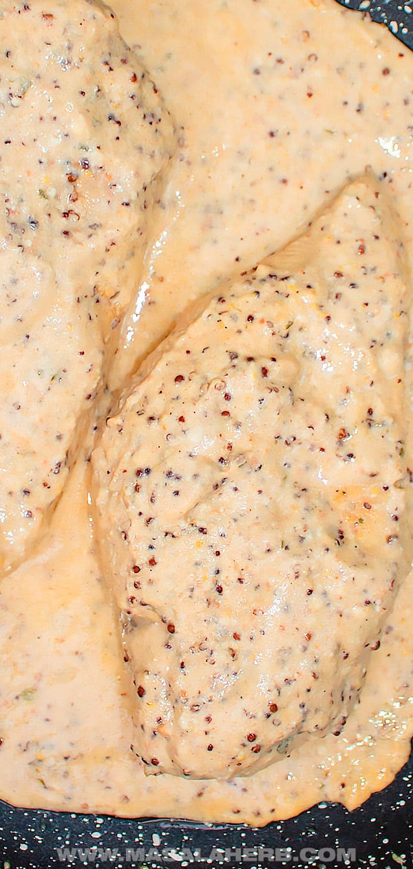 Skillet Dijon Mustard Chicken Recipe
