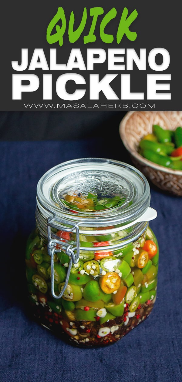 Quick Pickled Jalapenos Recipe