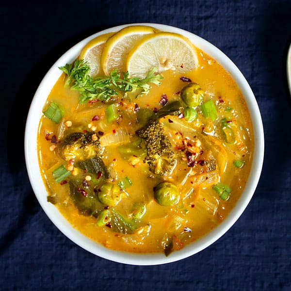 Thai Vegetable Soup Recipe