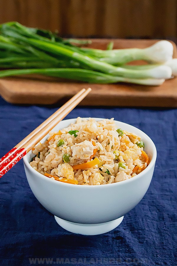 Hibachi Fried Rice Recipe