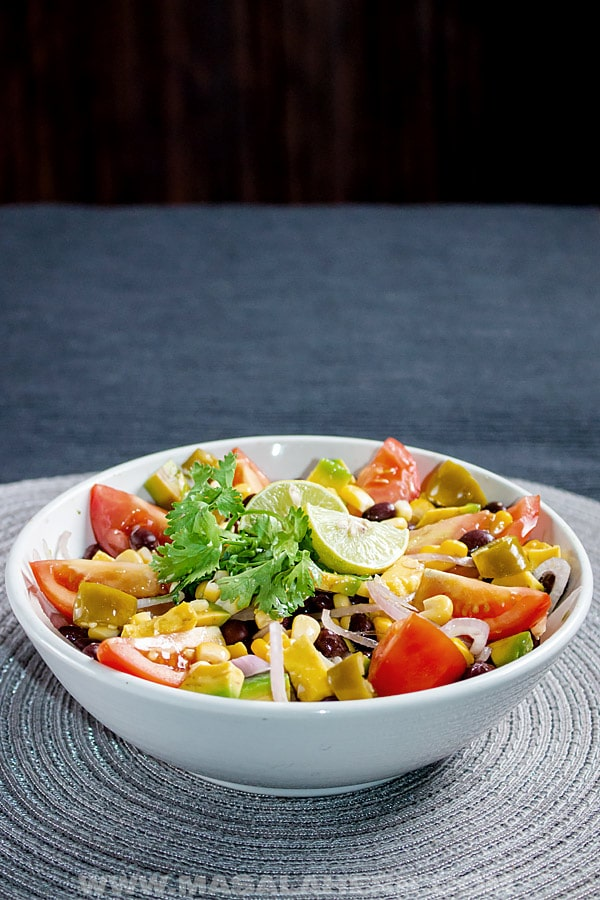 Mexican Corn Black Bean Salad Recipe