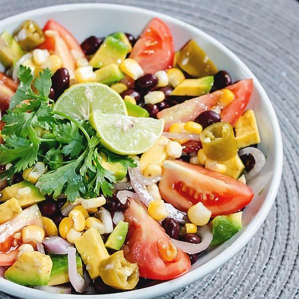 Mexican Corn Black Bean Salad Recipe
