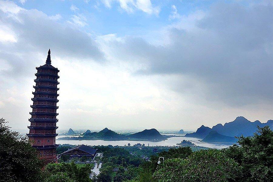 Bai Dinh Pagoda, Ninh Binh Vietnam