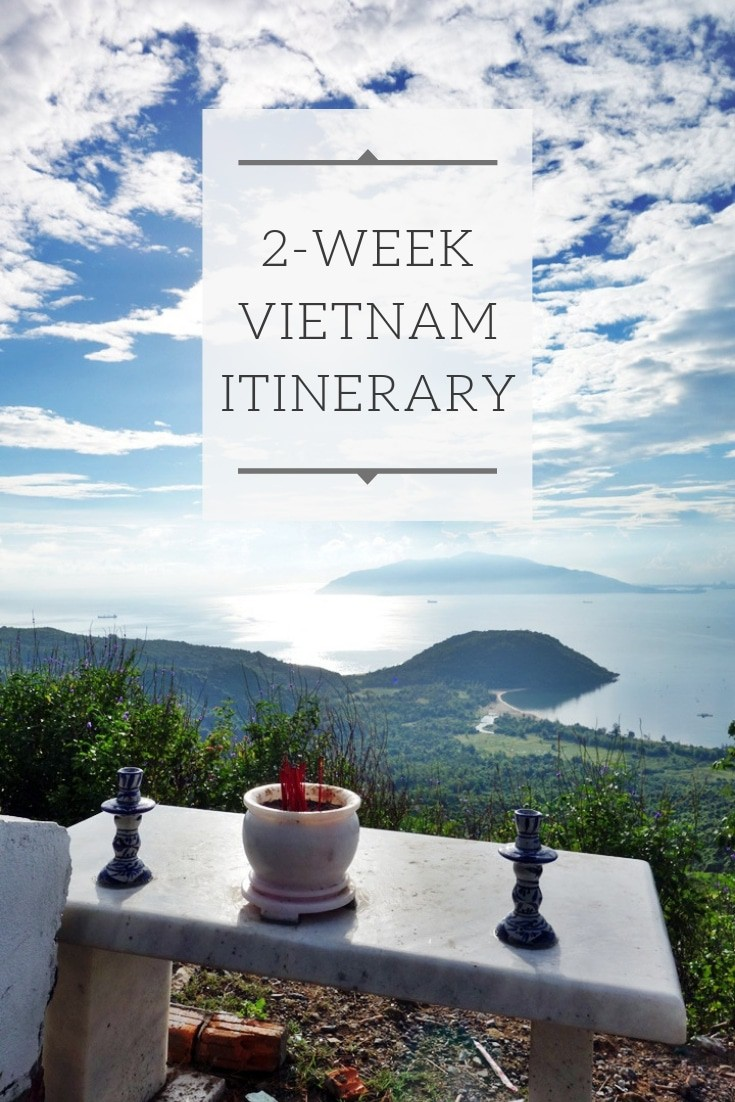2 Weeks Vietnam Itinerary - How to spend 2 weeks in Vietnam. South East Asia travel made easy. Discover the best jewels of Vietnam on your next trip! www.MasalaHerb.com #vietnam #itinerary