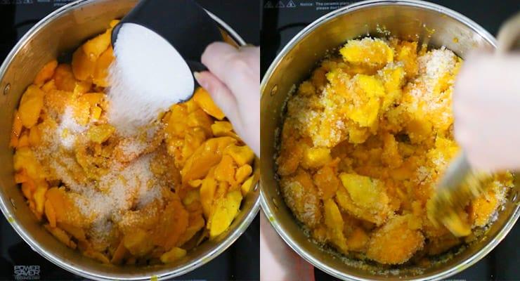 Homemade Mango Jam Recipe - Mango Preserves [+Natural pectin!]