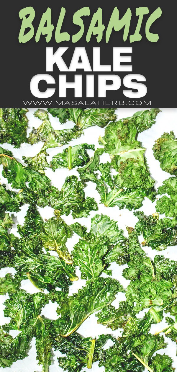 How to make Kale Chips with Balsamic flavors