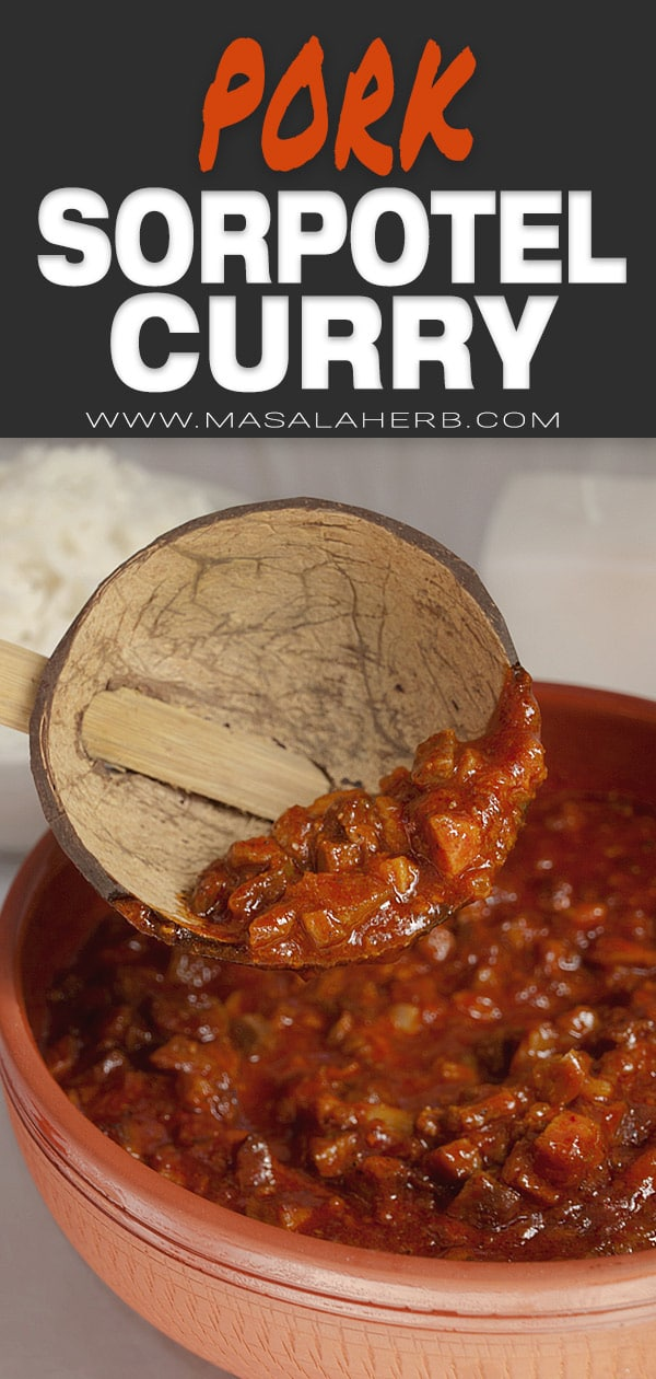 Pork Sorpotel Curry