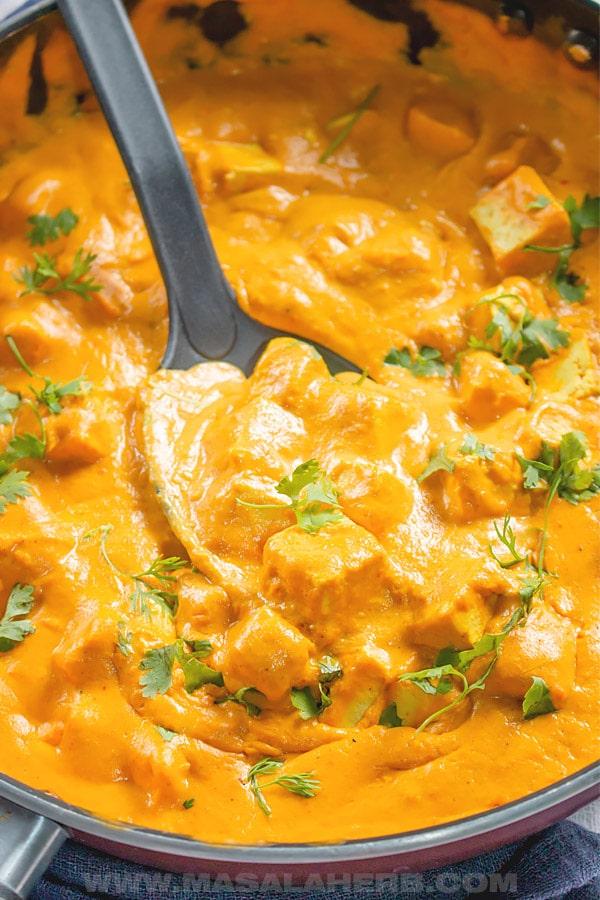 Vegan Tikka Masala Sauce Recipe