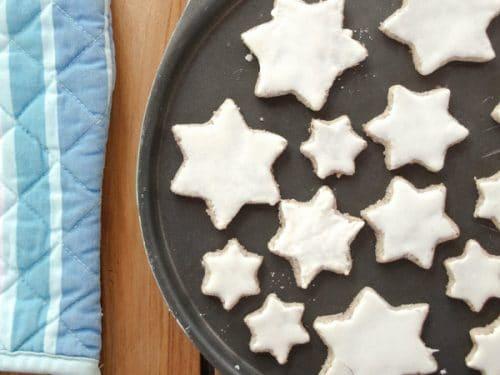Zimtsterne Recipe German Cinnamon Star Cookies Gluten Free