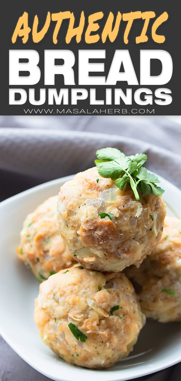Semmelknödel Recipe (Bread Dumplings)