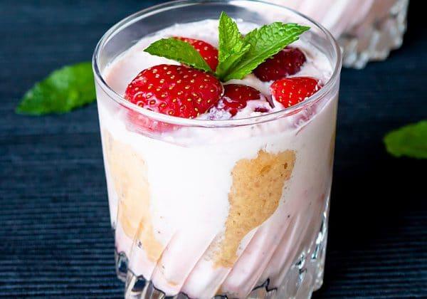 Individual Strawberry Charlotte Cake Recipe