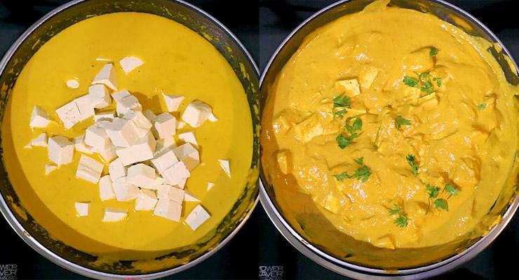 tofu in tikka masala