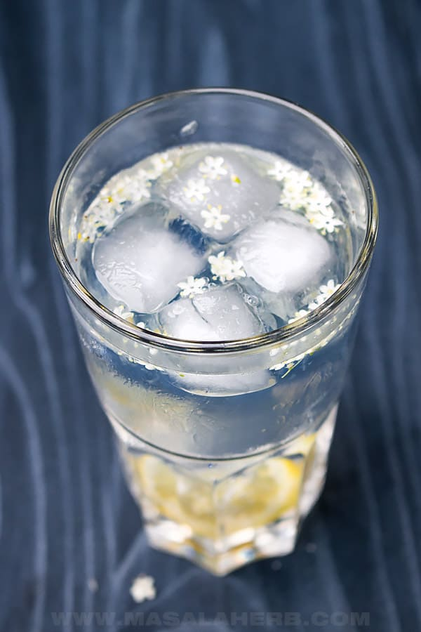 Lemon Gin Elderflower Cocktail Recipe