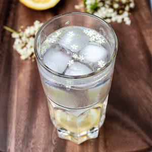 Lemon Gin Elderflower Cocktail Recipe