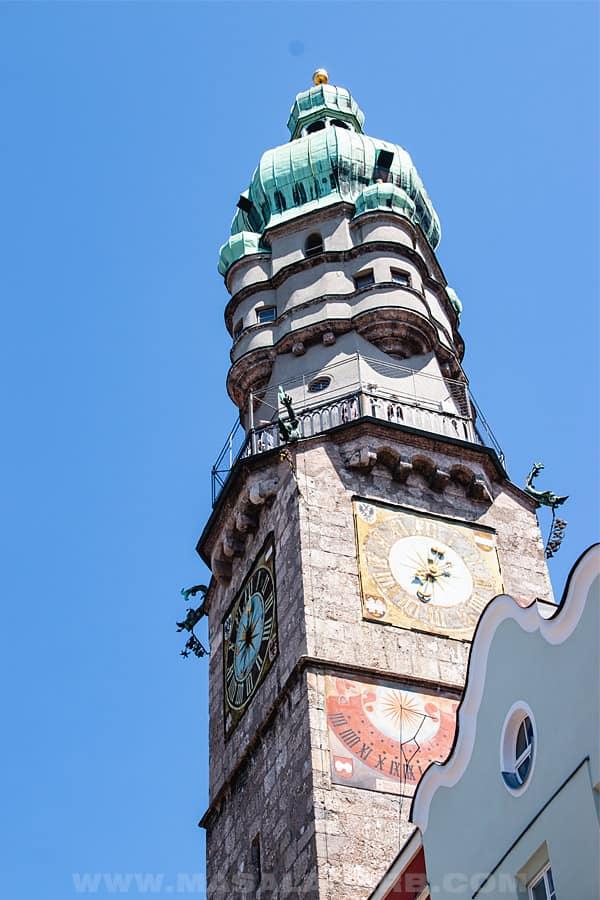 viewpoint tower Innsbruck