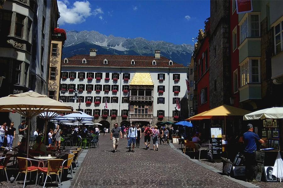 Innsbruck goldene dachl