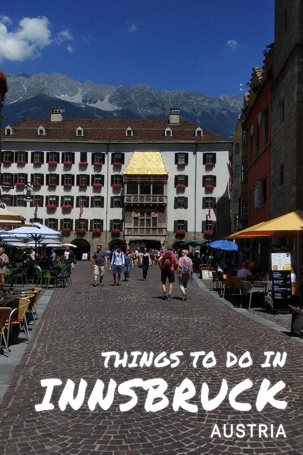 Innsbruck old city