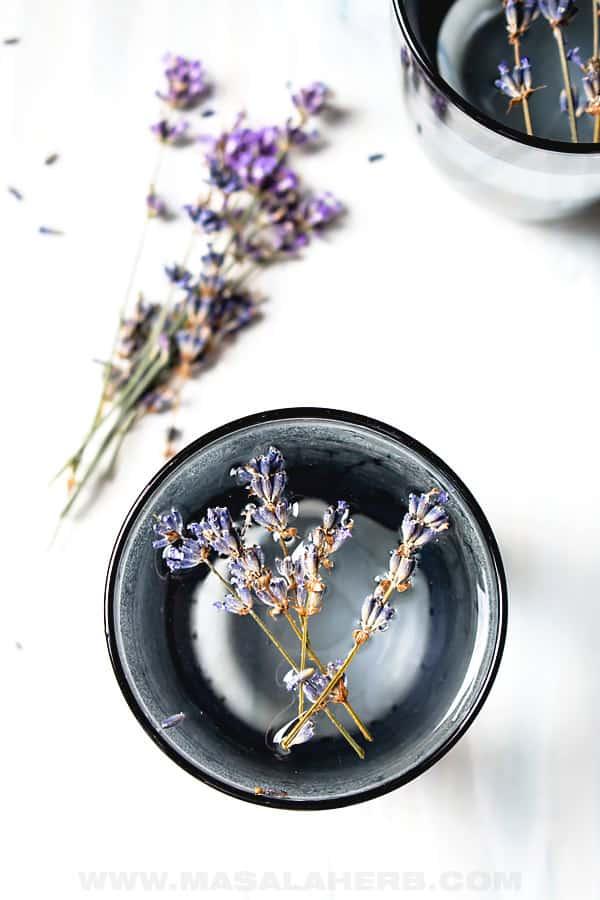 Infused Lavender Water Summer Drink