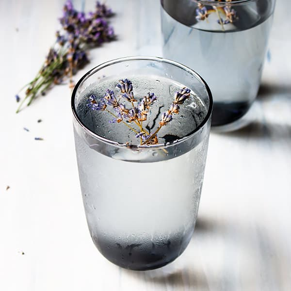 Infused Lavender Water Summer Drink