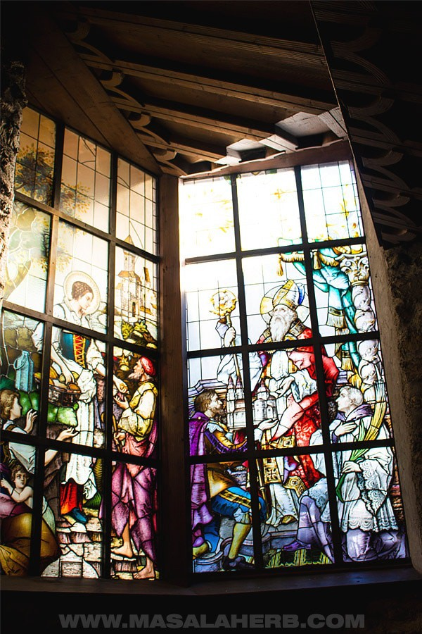Rattenberg church window