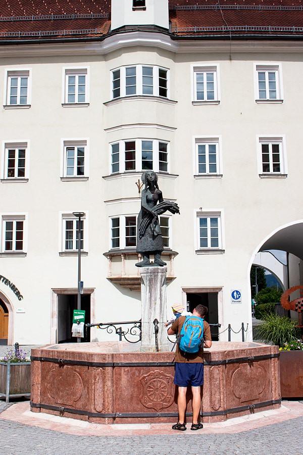 Rattenberg st. notburga well