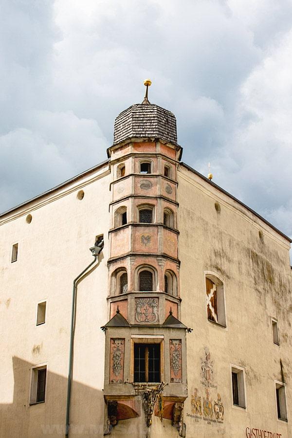 Rattenberg medieval building