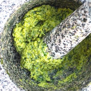 Basil Cashew Pesto Recipe