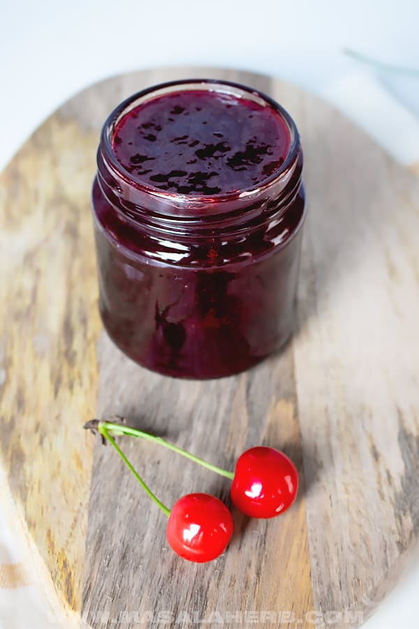 BEST Cherry Jam Recipe