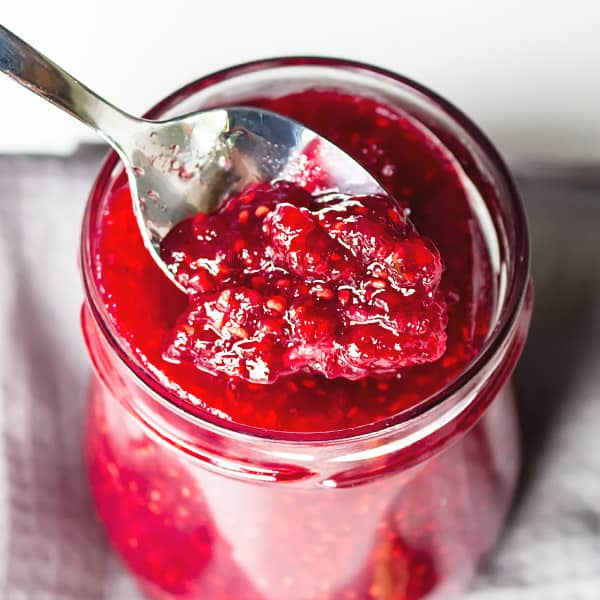 BEST Raspberry Jam Recipe