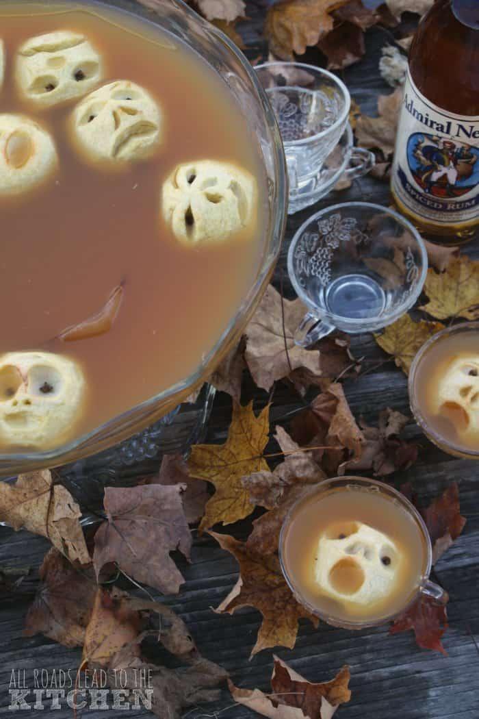 Shrunken Heads in Spiced Cider