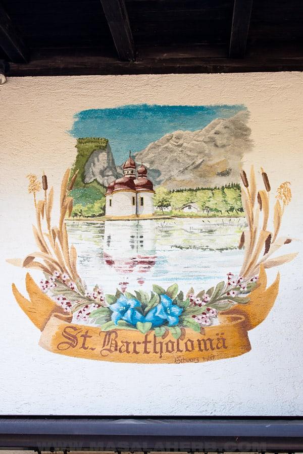 the beautiful st. bartholomä