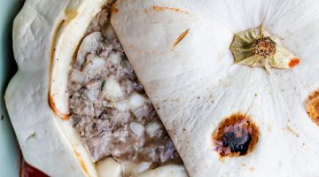 Meat Stuffed Patty Pan Squash