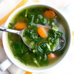 Fresh Turnip Green Soup Recipe