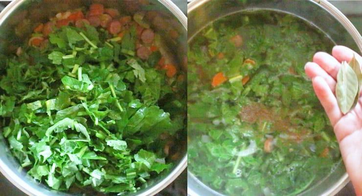 season Turnip Green Soup